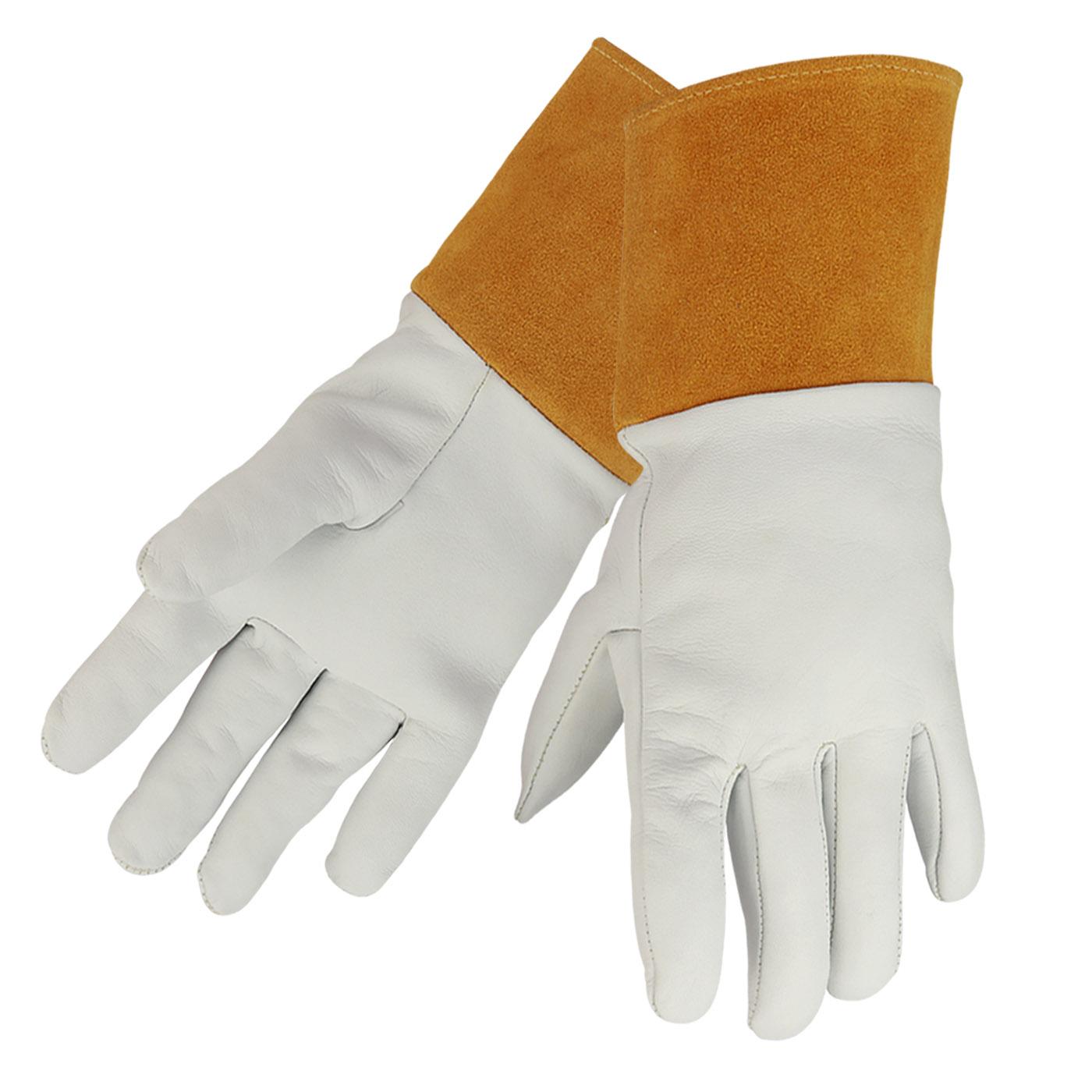 Premium Top Grain Kidskin Tig Welding Gloves