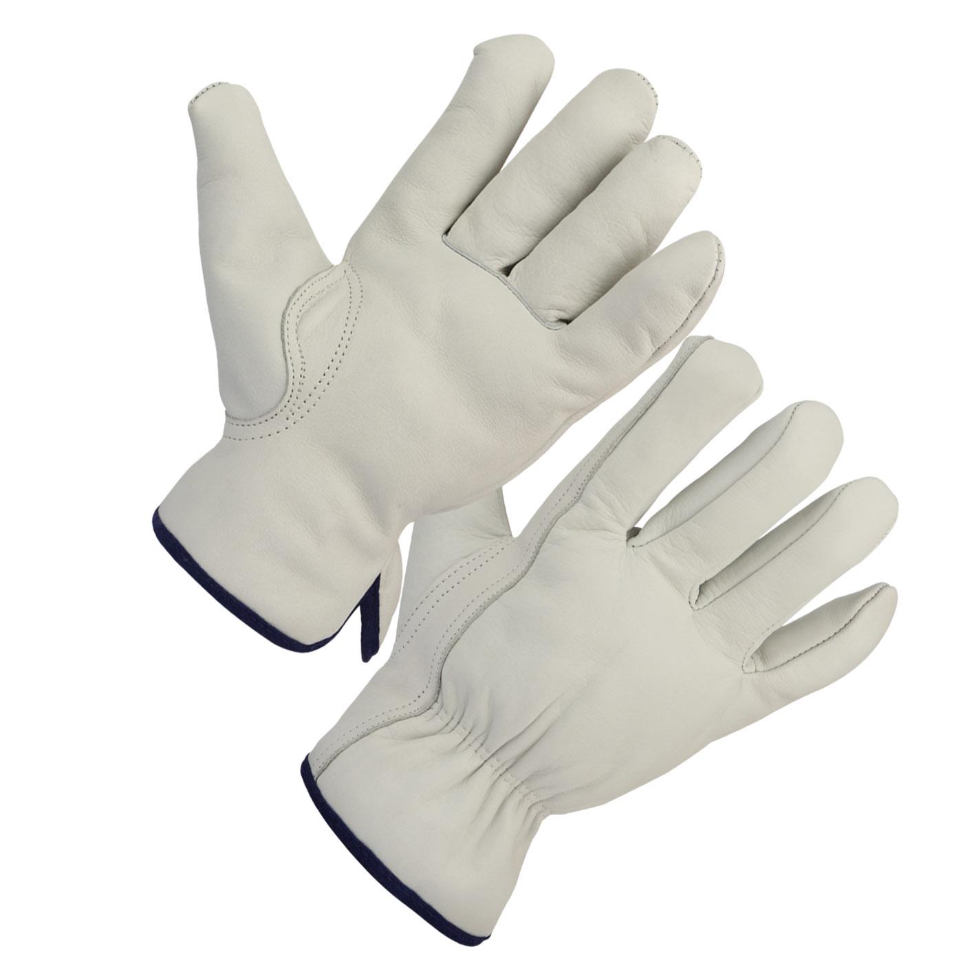 Grain Pearl Goatskin Driver Gloves Keystone Thumb