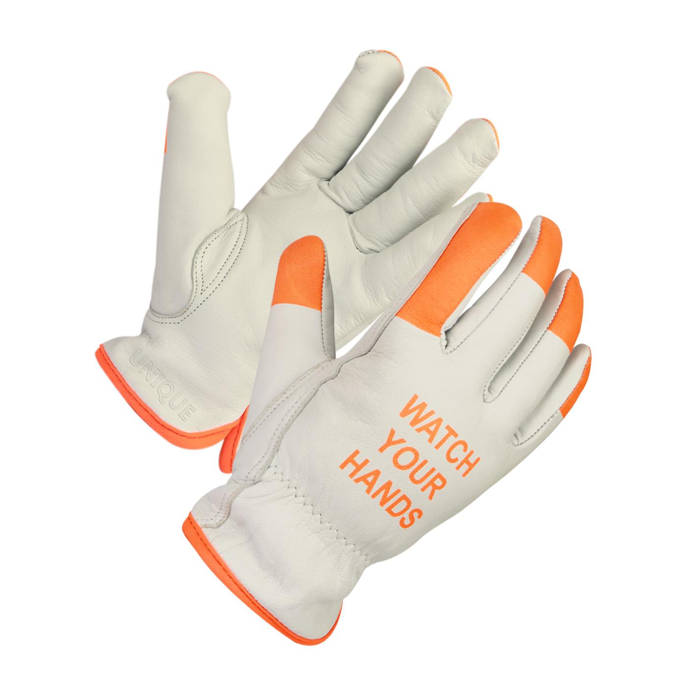 Goatskin Grain Driver Gloves Keystone Thumb