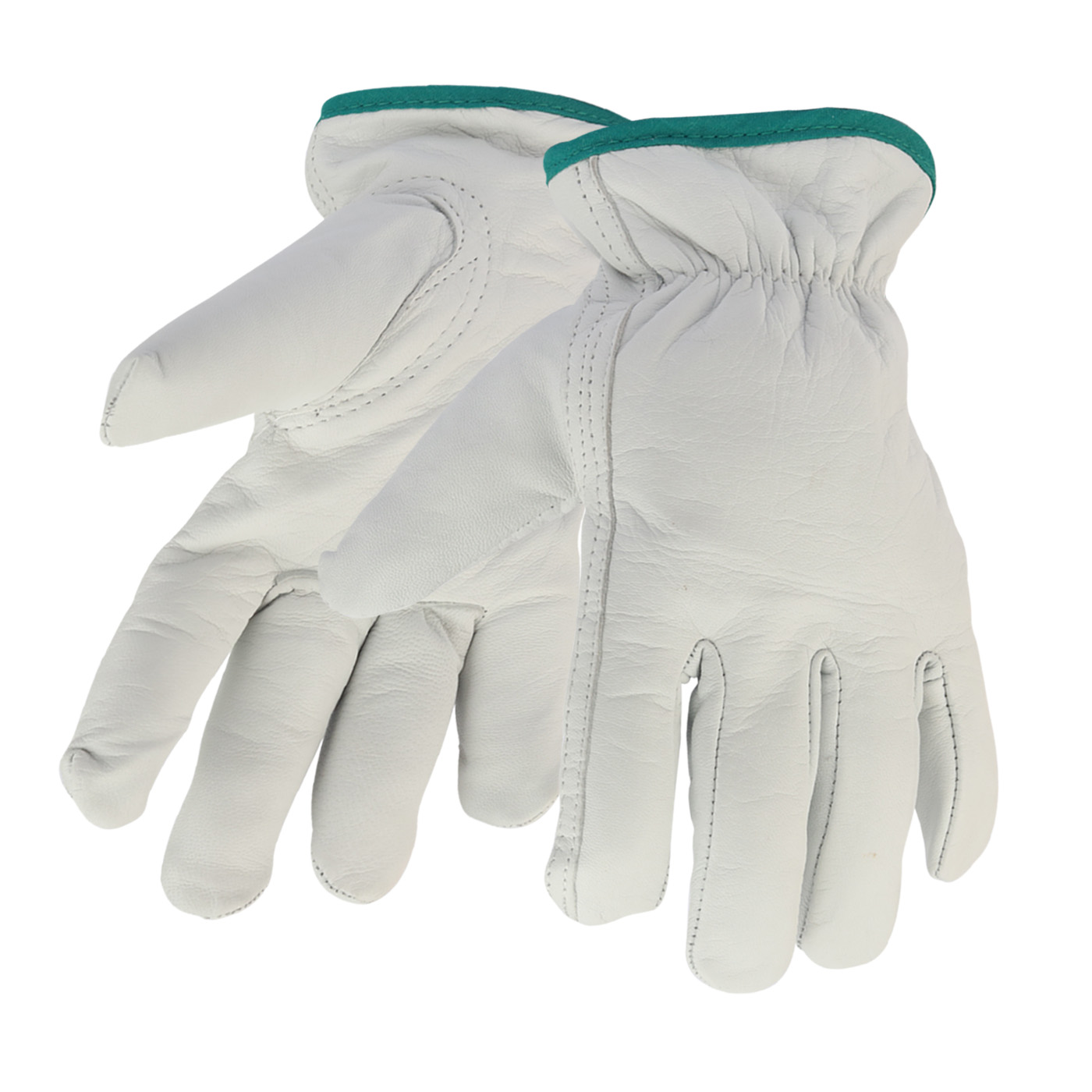 Unlined Goatskin Leather Driver Gloves