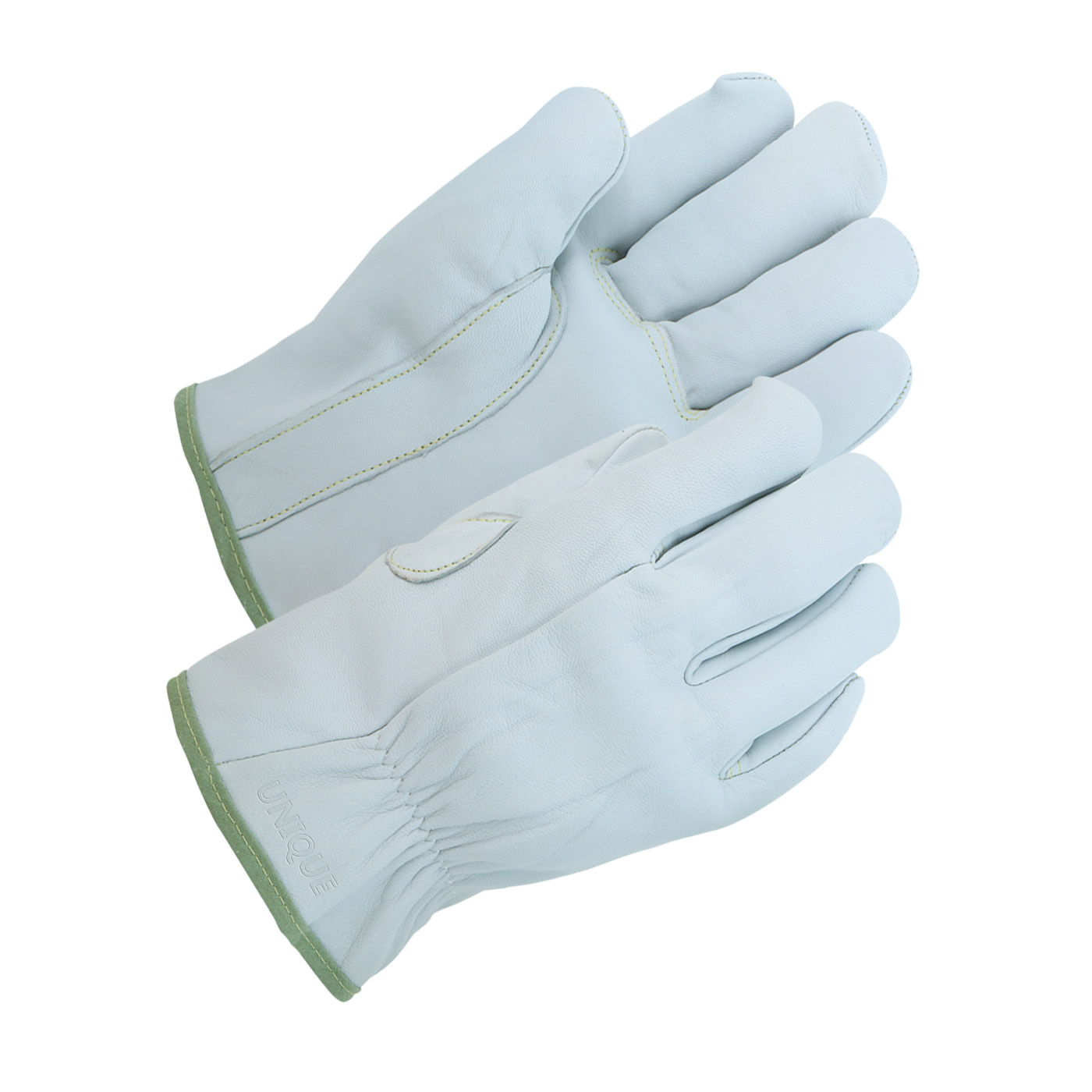 Pearl Color Unlined Goat Grain Glove