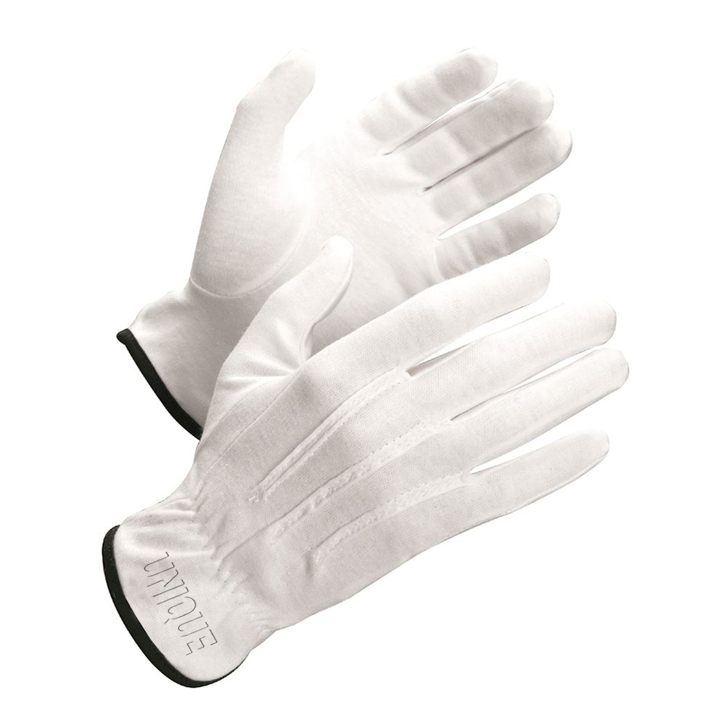 100% Cotton Knit Glove Palm And Fingers