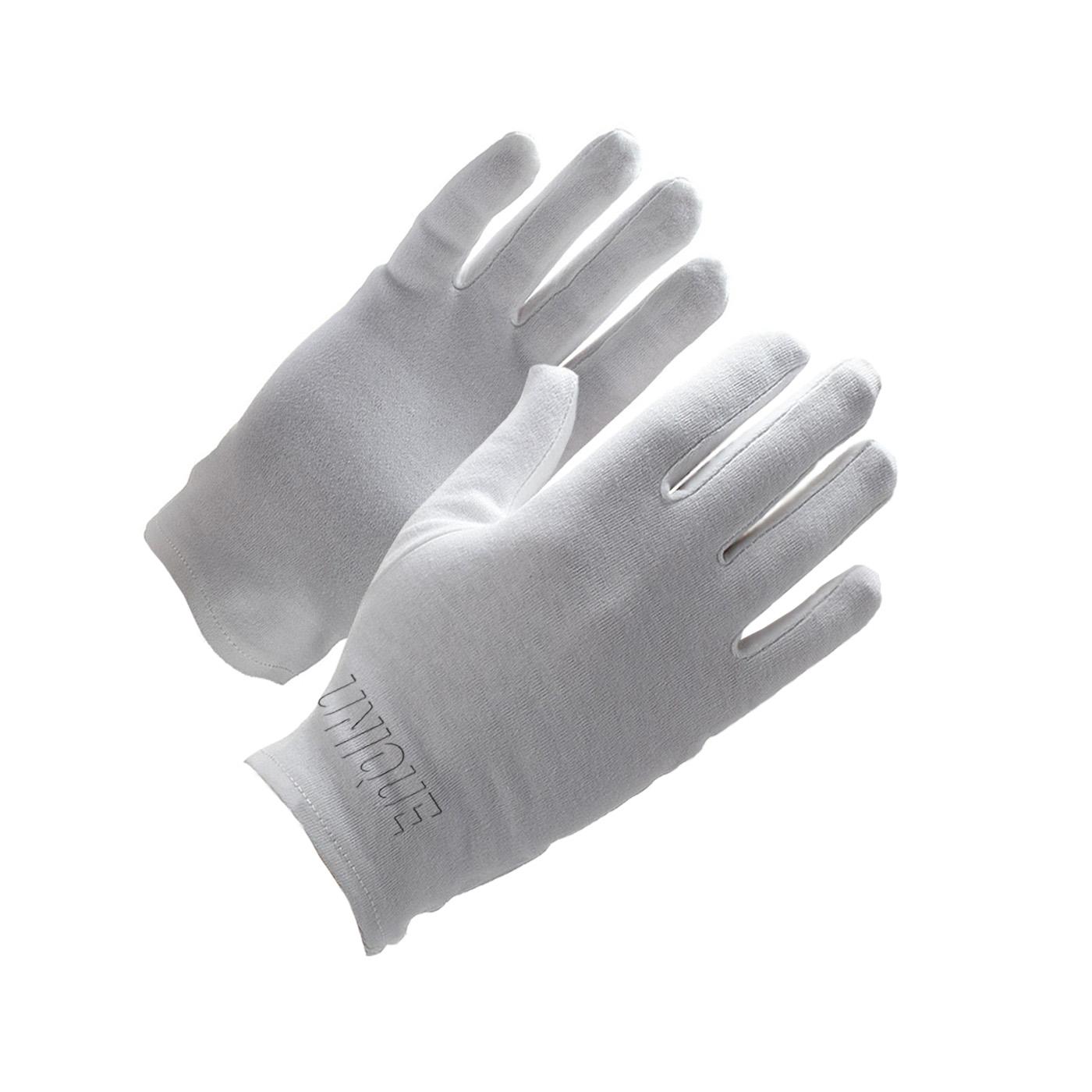 100% Cotton bleached interlock gloves