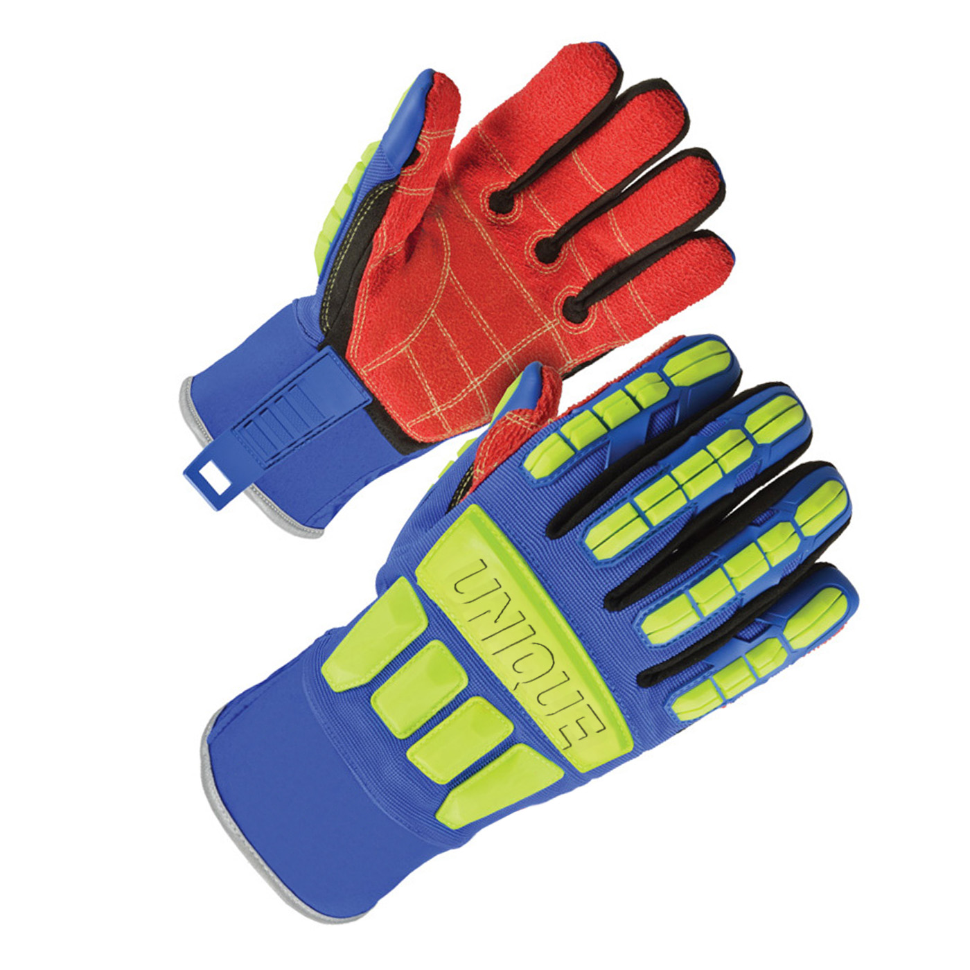 TPR Impact gloves with waterproof palm, ANSI
