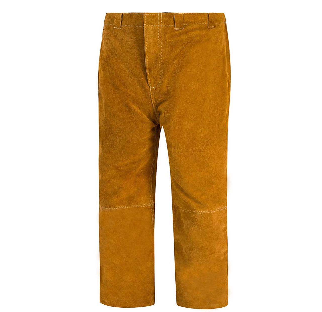 Cow Split Leather Welder Trousers