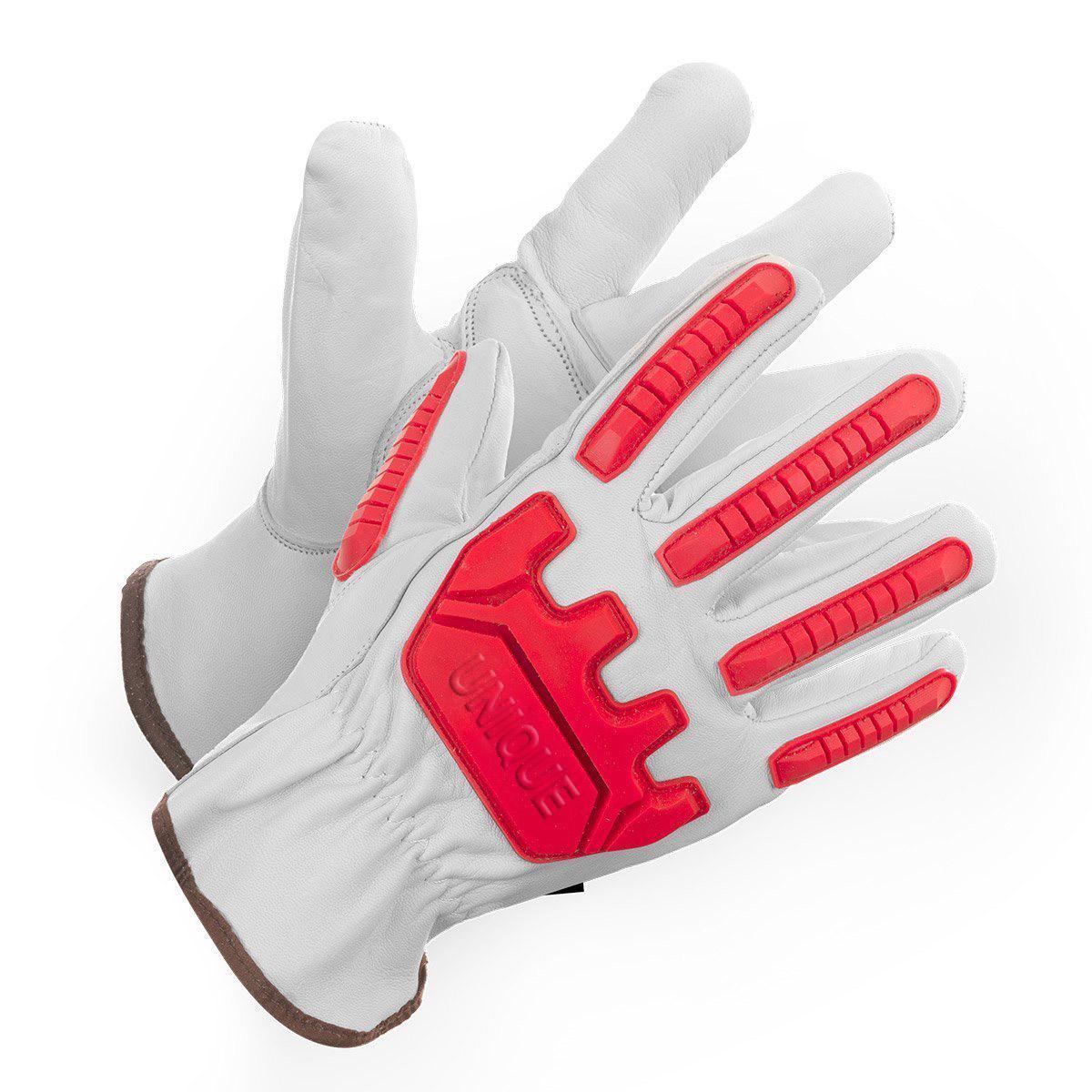 Natural Goat Skin Leather Glove Keystone Thumb