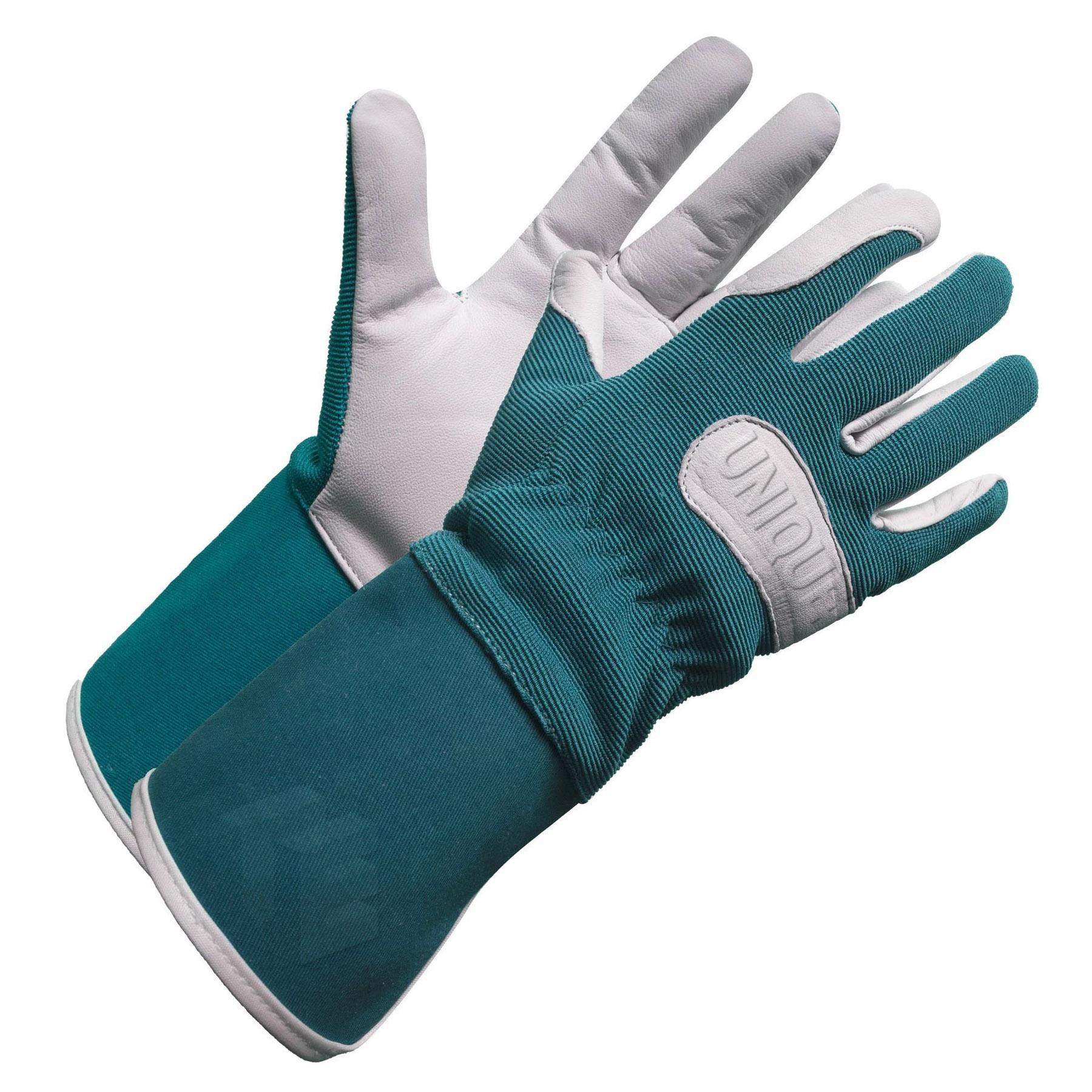 Natural Goat Skin Leather Ladies Palm Garden Glove