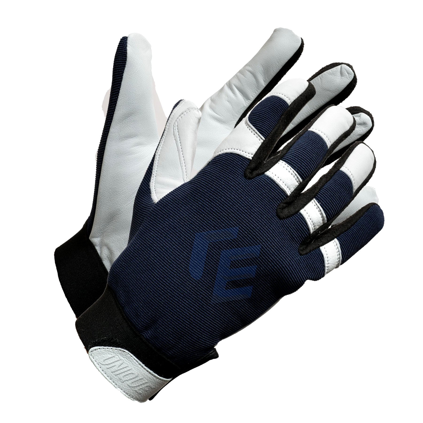 Natural Goat Skin Leather Assembly Glove With Spandex Back.