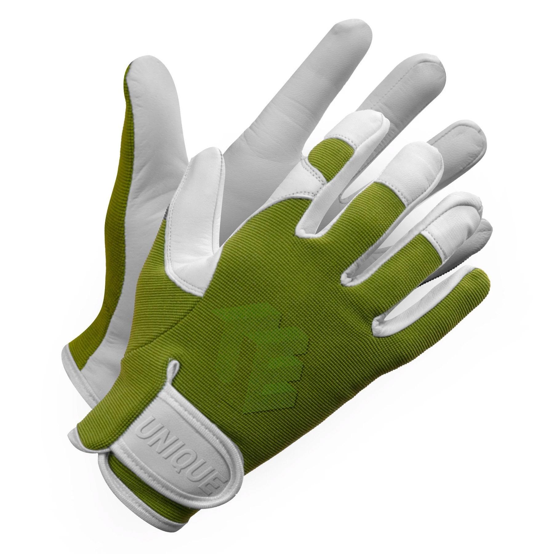 Natural Goat Skin Leather Ladies Garden Glove