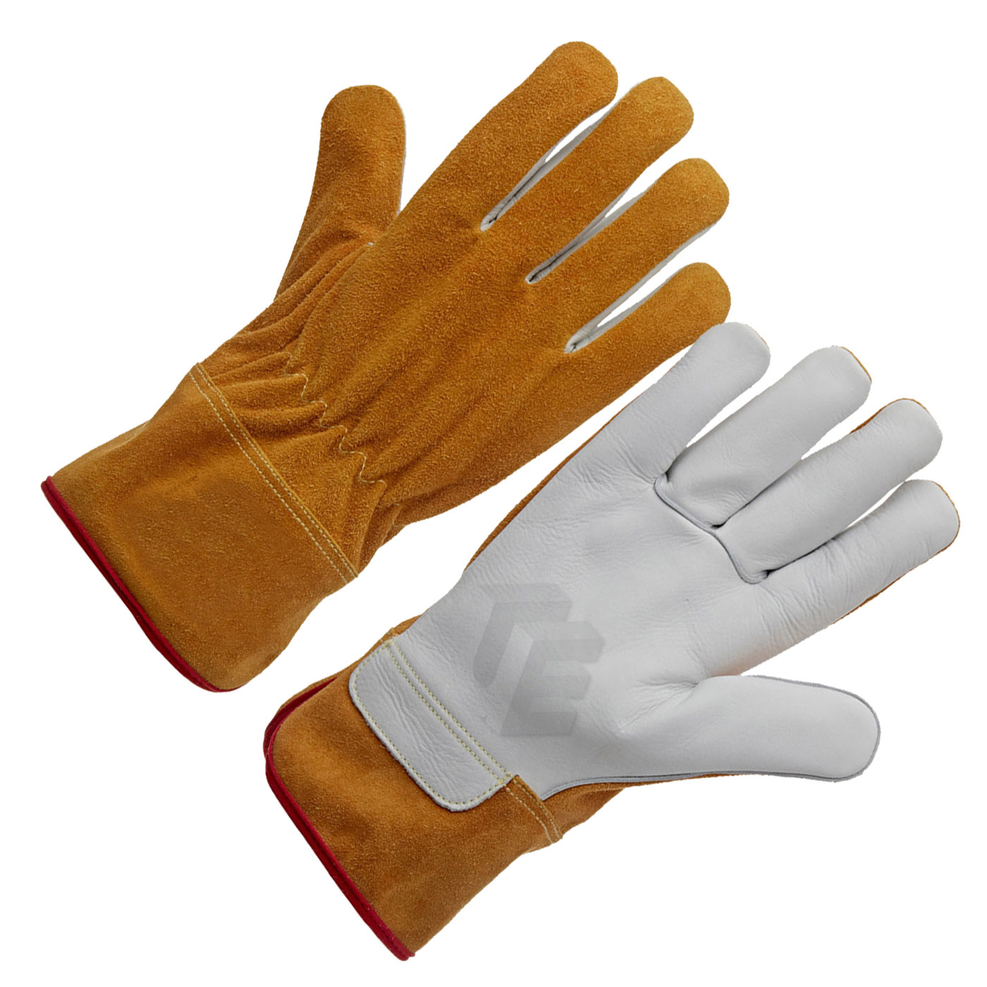 Natural Cow Grain Leather Tig Welder Glove